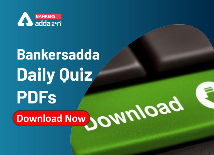 Bankersadda Daily Quiz PDFs: 29th April_40.1