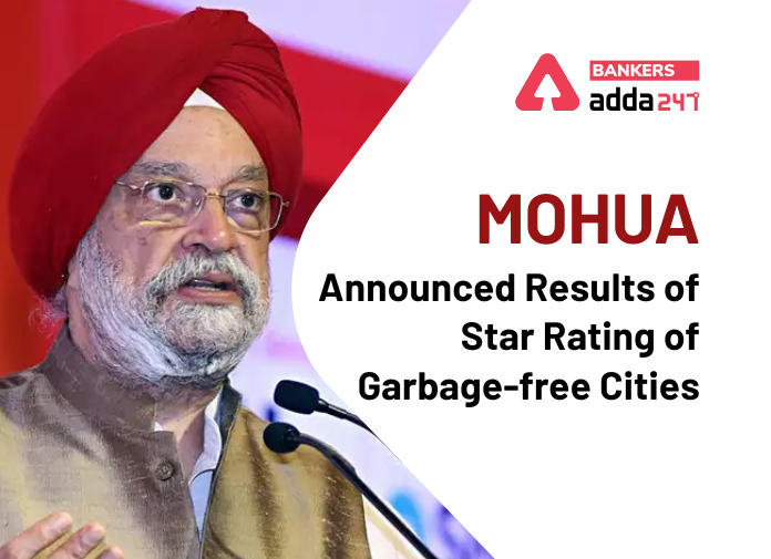 MOHUA announced results of Star rating of garbage-free cities_40.1