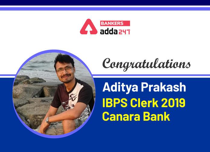 Success Story of Aditya Prakash Selected in IBPS Clerk and LIC Assistant 2019_40.1