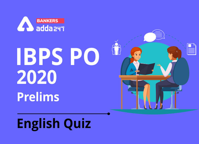 English Quiz for IBPS PO 2020, 13th August- Sentence Rearrangement_40.1