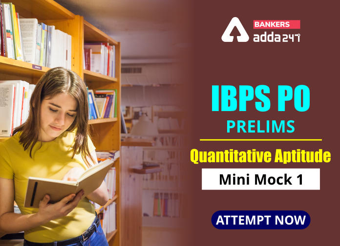 IBPS PO Prelims Quantitative Aptitude Mini Mock 25- Mixture & Allegation, Time & Work and Pipes & Cisterns_40.1
