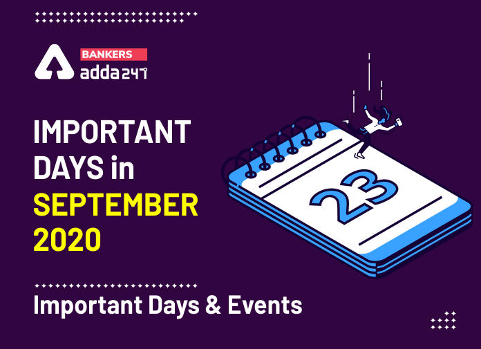 Important Days In September 2020: Important Days & Events In India_40.1