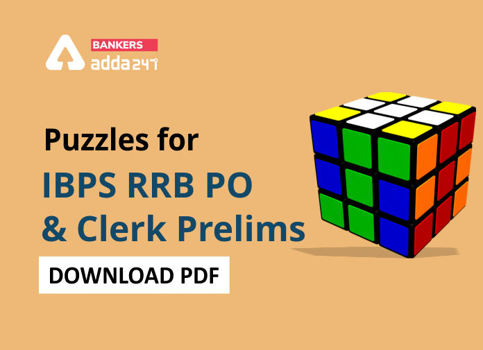 Puzzles Question PDF For IBPS RRB Prelims 2020: Download Now_40.1