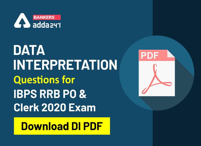 Data Interpretation And Caselet Question PDF For IBPS RRB PO & Clerk Prelims 2020_40.1