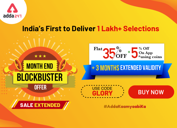 Month End Blockbuster Offer- Flat 35% Off + %5 Extra + 3 Months Extended Validity, Use code: GLORY and App Coins_40.1