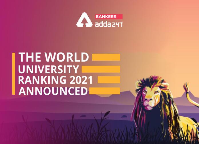 THE World University Ranking 2021 Announced_40.1