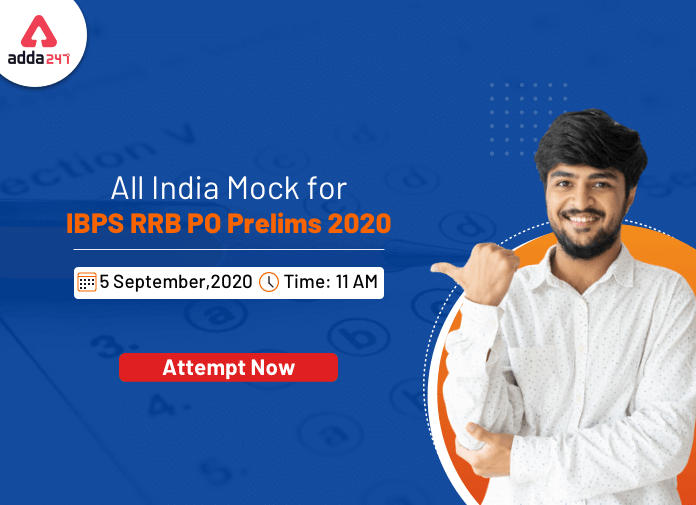 All India Mock Test for IBPS RRB PO Prelims 2020 on 5th September- Attempt Now_40.1