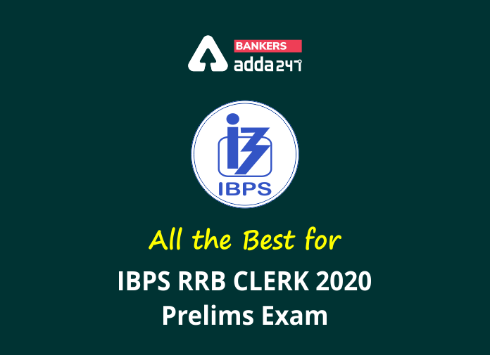 All The Best For IBPS RRB Clerk 2020 Prelims Exam_40.1