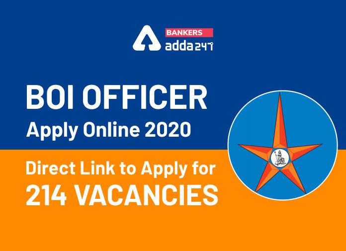 BOI Officer Online Application 2020: Apply Online Link Starts On 16th September_40.1