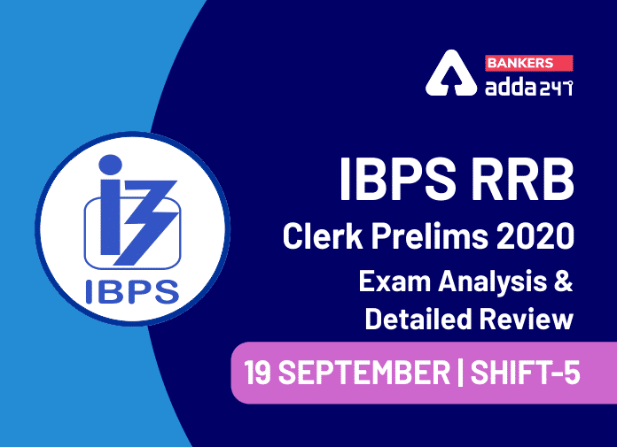 IBPS RRB Office Assistant Prelims Exam Analysis 2020 Shift-5, 19 September_40.1