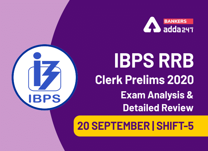 IBPS RRB Clerk 5th Shift Exam Analysis 2020, 20 September IBPS RRB Office Assistant Shift 5 Exam Review_40.1