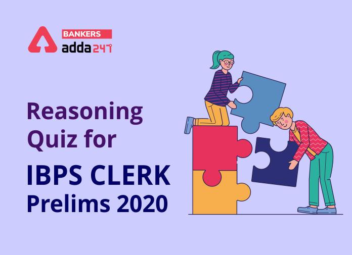 IBPS Clerk Prelims Reasoning Mini Mock- 7th November_40.1