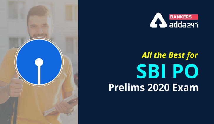 All the Best for SBI PO Prelims 2020-21_40.1