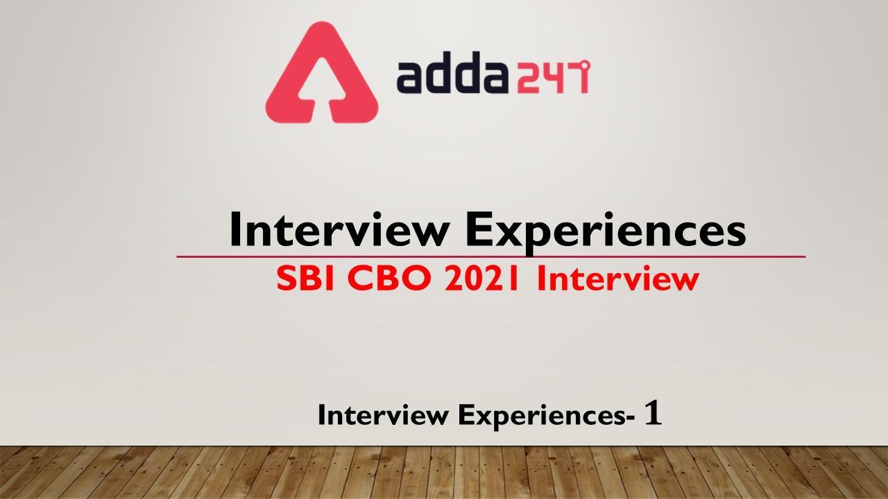 SBI CBO 2021   Interview Experience   Dheerendra Kumar   Jaipur Circle_40.1