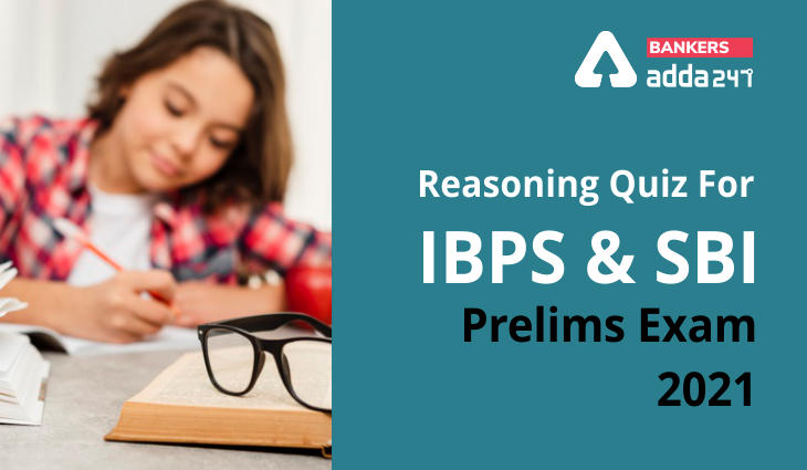 Reasoning Ability Quiz For SBI, IBPS Prelims 2021- 16th March_40.1