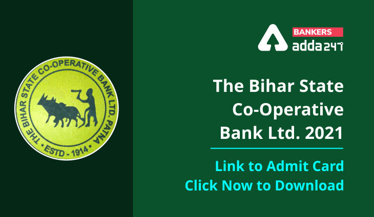 Bihar State Cooperative Bank Admit Card 2021 Out: BSCB Prelims Admit Card Link_40.1