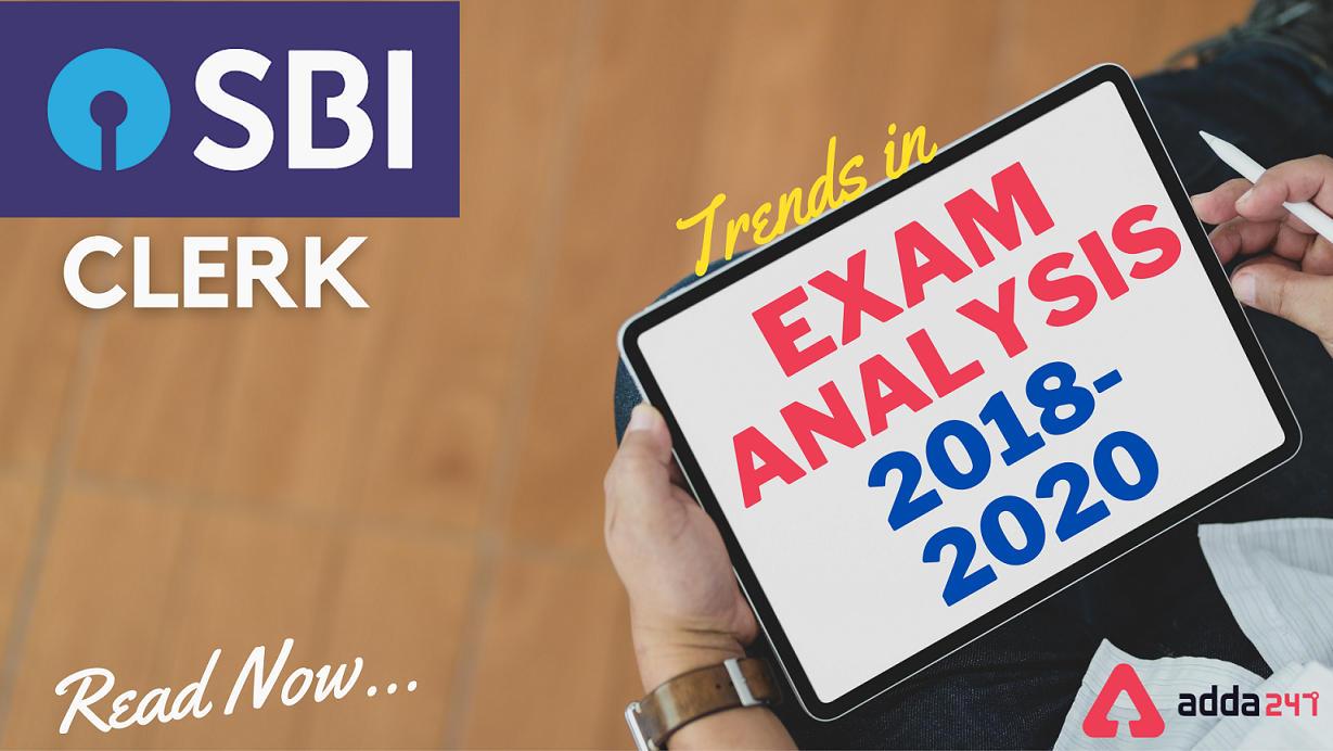 SBI Clerk Prelims Exam Analysis: Trend 2018, 2019 & 2020_40.1