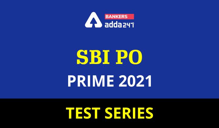 SBI PO Prime 2021 Test Series_40.1
