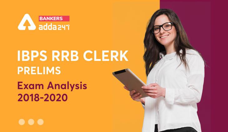 IBPS RRB Clerk Prelims Exam Analysis Trend: 2018, 2019 & 2020_40.1