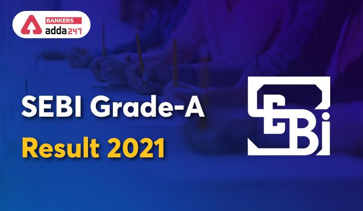 SEBI Grade A Result 2021 Out: Download Grade A Final Result Link_40.1