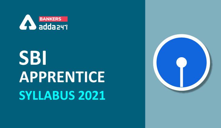 SBI Apprentice Syllabus & Exam Pattern 2021 PDF Download Syllabus Topic-wise_40.1