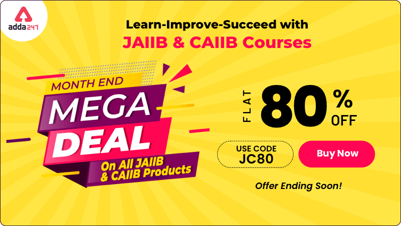 Month End Mega Deal on All JAIIB & CAIIB Products_40.1