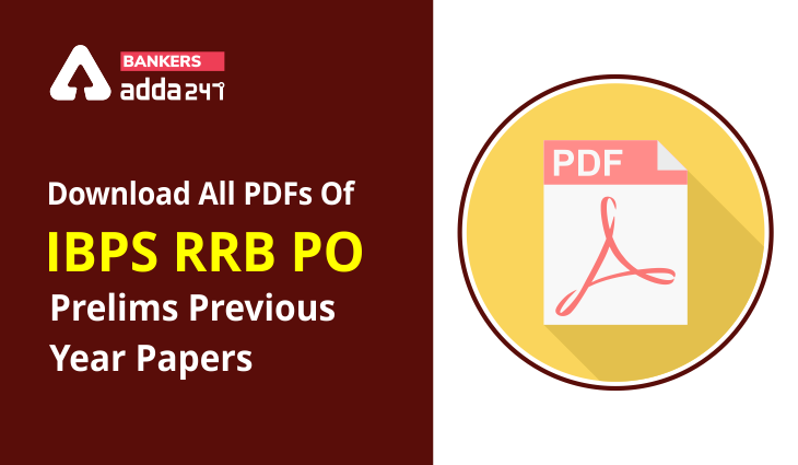 Download All PDFs Of IBPS RRB PO Prelims Previous Year Papers_40.1