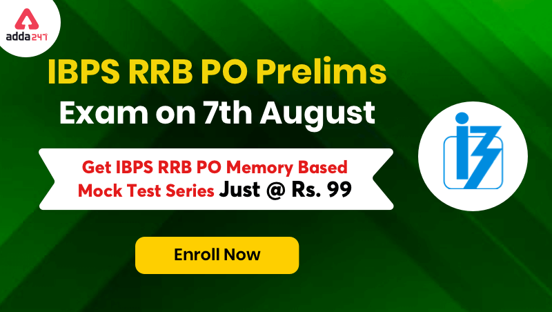 IBPS RRB PO Prelims Memory Based Papers 2021 Online Test Series_40.1