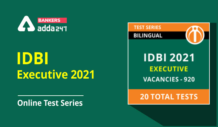 IDBI Executive 2021 Online Test Series (Special Offer)_40.1