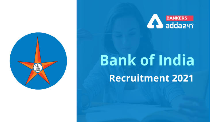 Bank of India Recruitment 2021 For 21 Vacancy, Apply Online Now_40.1