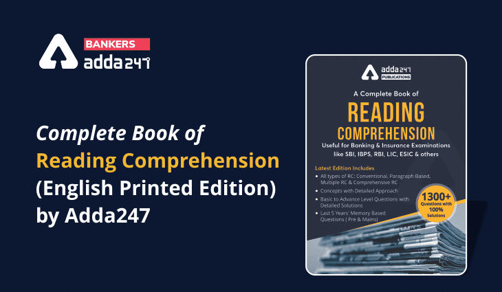A Complete Book of Reading Comprehension (English Printed Edition) by Adda247_40.1