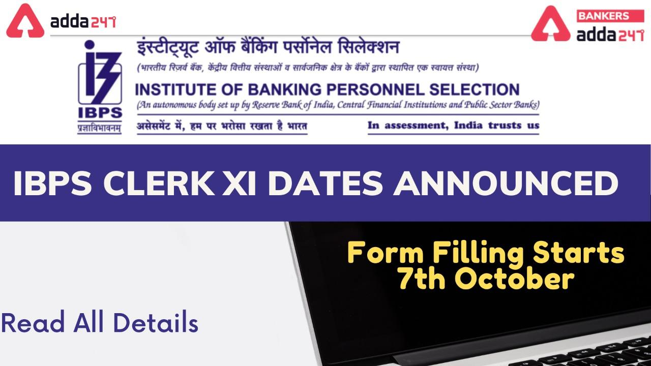 IBPS Clerk 2021 New Notification Out PDF for 7855 Posts_40.1