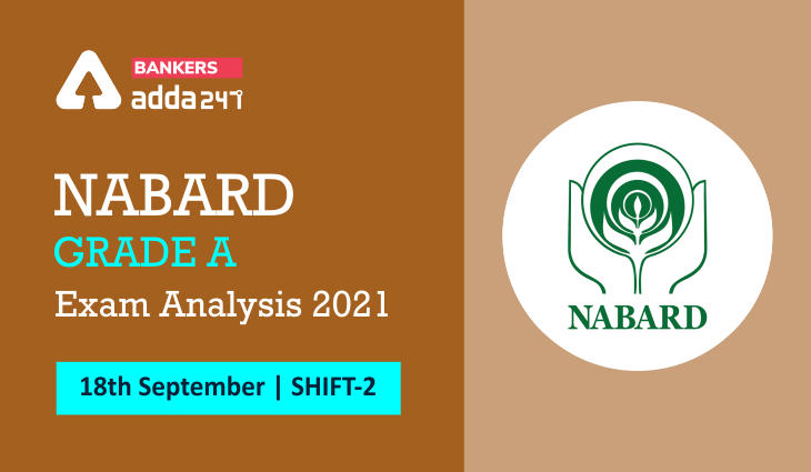 NABARD Grade A Exam Analysis 2021 Shift 2,18 September Exam Review, Overall Good Attempts_40.1