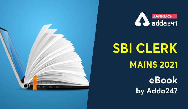 SBI Clerk Mains 2021 eBook | Download for FREE & Start Practicing_40.1