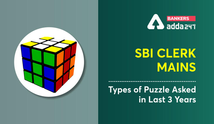SBI Clerk Mains Types of Puzzle Asked in Last 3 Years_40.1