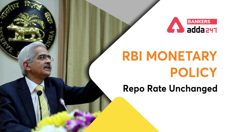 RBI Monetary Policy: Repo Rate Unchanged_40.1