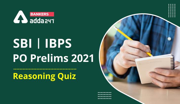Reasoning Ability Quiz For SBI/IBPS PO Prelims 2021- 11th October_40.1