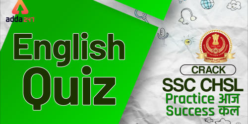 SSC CHSL English Miscellaneous Quiz : 2nd July_40.1