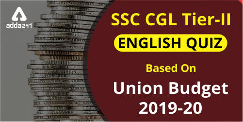 SSC CGL Tier 2 English Miscellaneous Quiz: 5 July_40.1