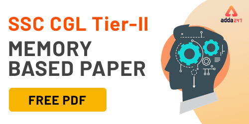 Download SSC CGL Tier 2 Memory Based Paper PDF_40.1