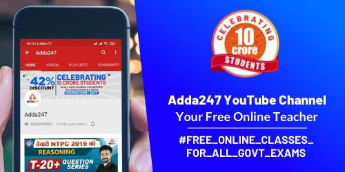 Adda247 YouTube Channel: Your Free Online Teacher_40.1