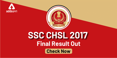 SSC CHSL Final Result 2017 Out : Check Here_40.1