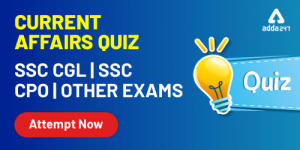 Current Affairs For SSC CGL Exam 8th January 2020_40.1