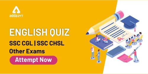 English Quiz For SSC CGL/CHSL: 15th January Sentence Rearrangement Quiz_40.1