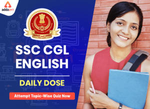 English Sentence Completion Quiz For SSC CGL Exam: 30th Jan 2020 for filler questions_40.1