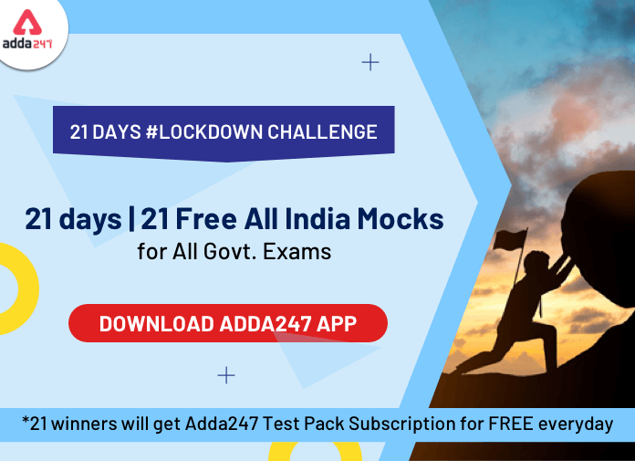 21 Days, 21 Free Challenging Mocks: All Exams, Practice from Home_40.1