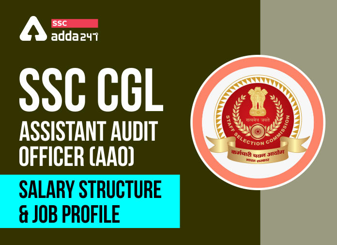 SSC CGL Assistant Audit Officer (AAO): SSC CGL AAO Salary Structure, And Job Profile_40.1