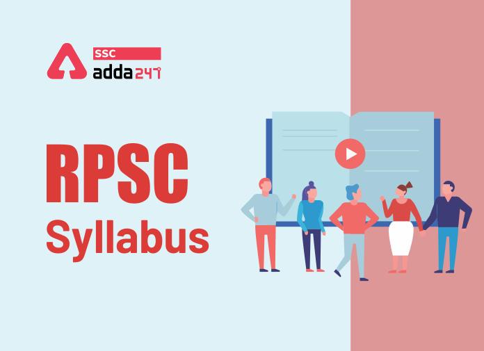 RPSC Syllabus - Blog
