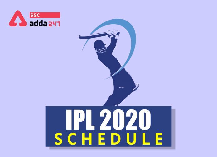 IPL Time Table 2020: Check IPL 2020 Match Dates_40.1