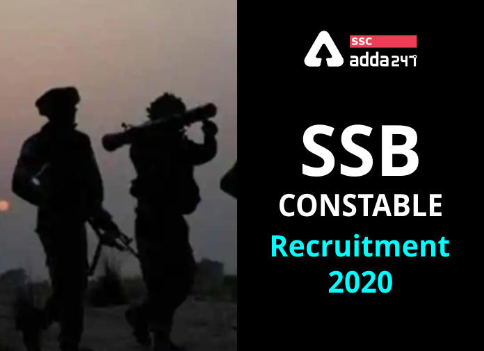 SSB Recruitment 2020: Apply Online For 1522 Vacancies @ssbrectt.gov.in 2020 Before 27th September_40.1